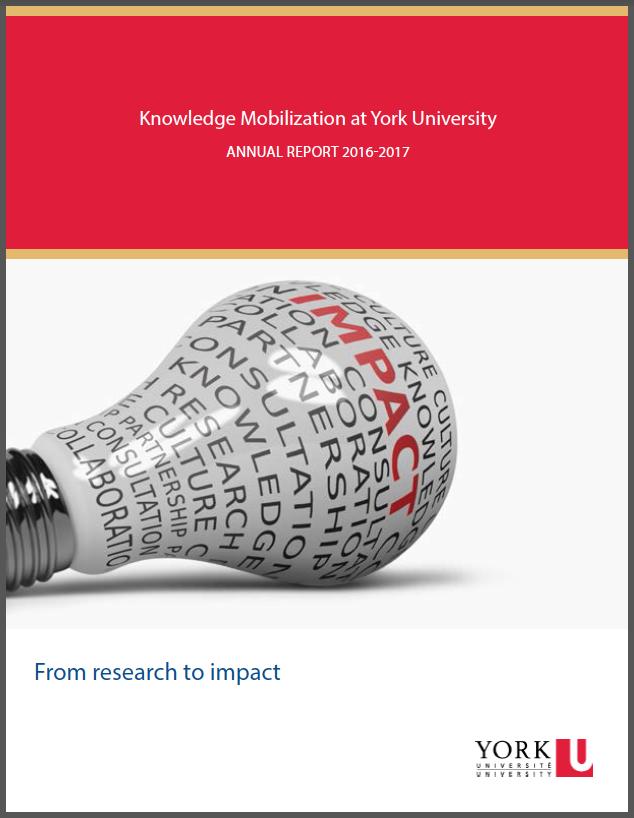 Knowledge Mobilization Annual Report Cover 2013-2014